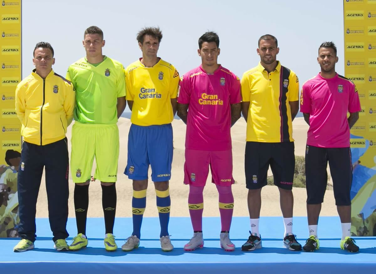 Nuevas casacas de Las Palmas | Imagen Web Oficial