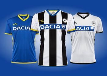 Nuevas casacas del Udinese | Foto HS Football