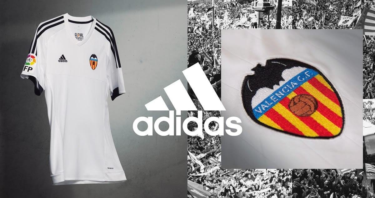 Nueva casaca del Valencia | Foto Web Oficial