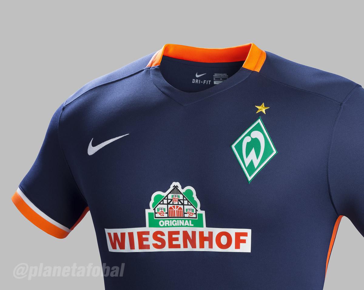 Casaca suplente del Werder Bremen | Foto Nike