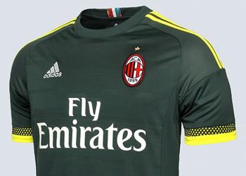 Tercera camiseta del Milan | Foto Tienda Oficial