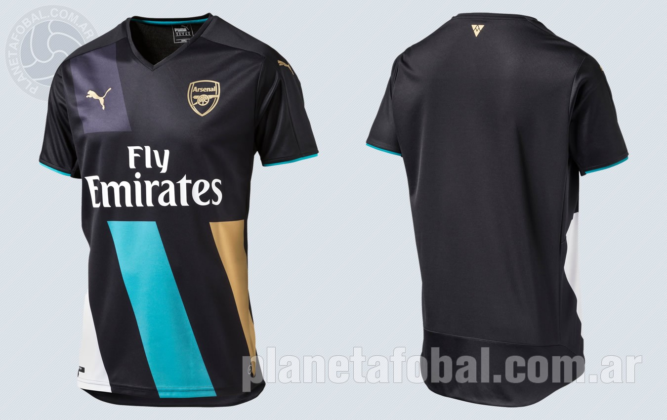 Tercera camiseta del Arsenal | Imágenes Puma