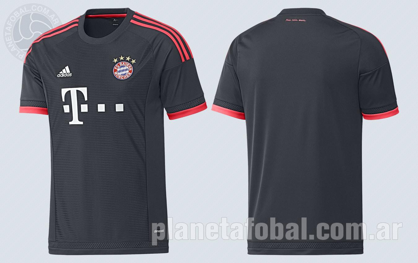 Tercera casaca del Bayern Munich | Imágenes Tienda Oficial