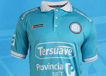 Nueva camiseta de Belgrano | Foto Web Oficial