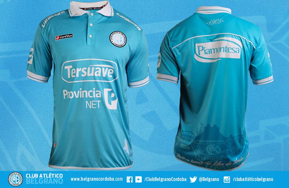 Nueva camiseta de Belgrano   Foto Web Oficial