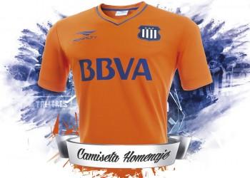 Camiseta homenaje Penalty de Talleres de Córdoba | Foto web oficial