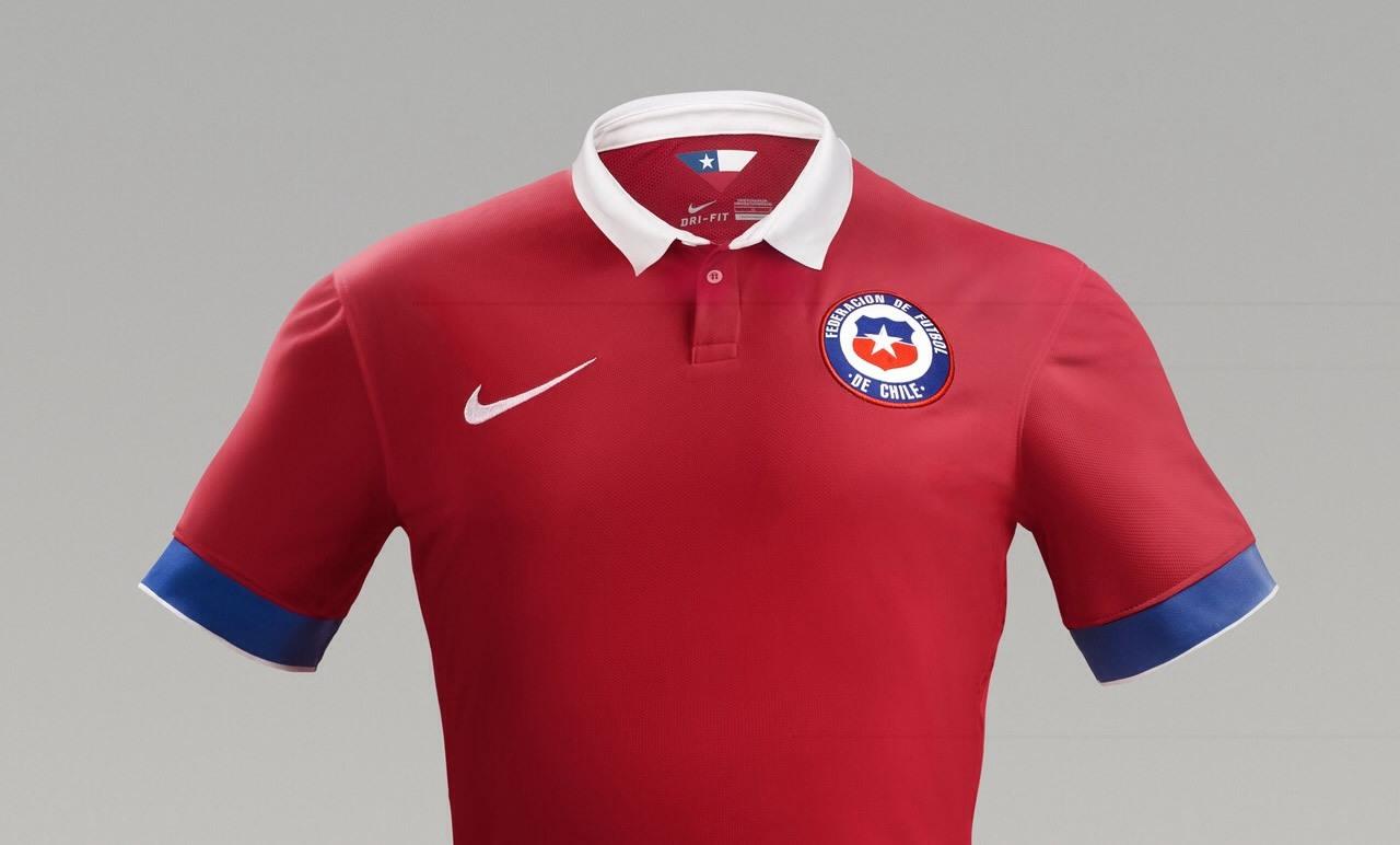 Camiseta titular del Chile | Foto La Tercera
