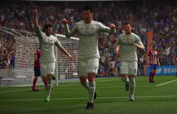 Cristiano Ronaldo en el nuevo trailer del FIFA 16