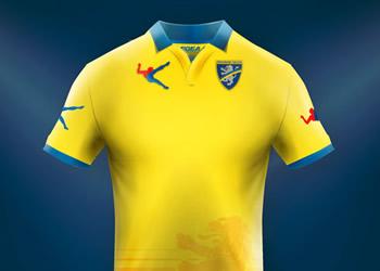 Camiseta titular del Frosinone | Foto Web Oficial