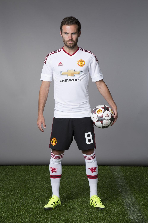 Camiseta Suplente Adidas Del Manchester United 2015 16