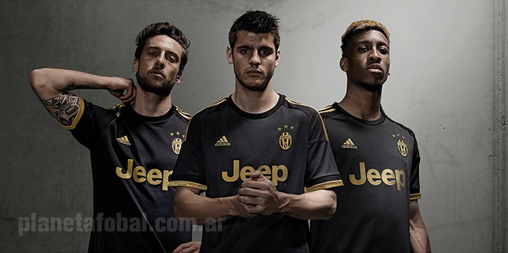 Tercera camiseta Adidas de la Juventus 2015 16  53b93ccb74e20