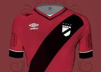 Camiseta alternativa de Danubio para 2015/2016 | Foto Umbro