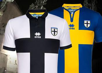 Las primeras casacas del Parma Calcio | Foto Errea