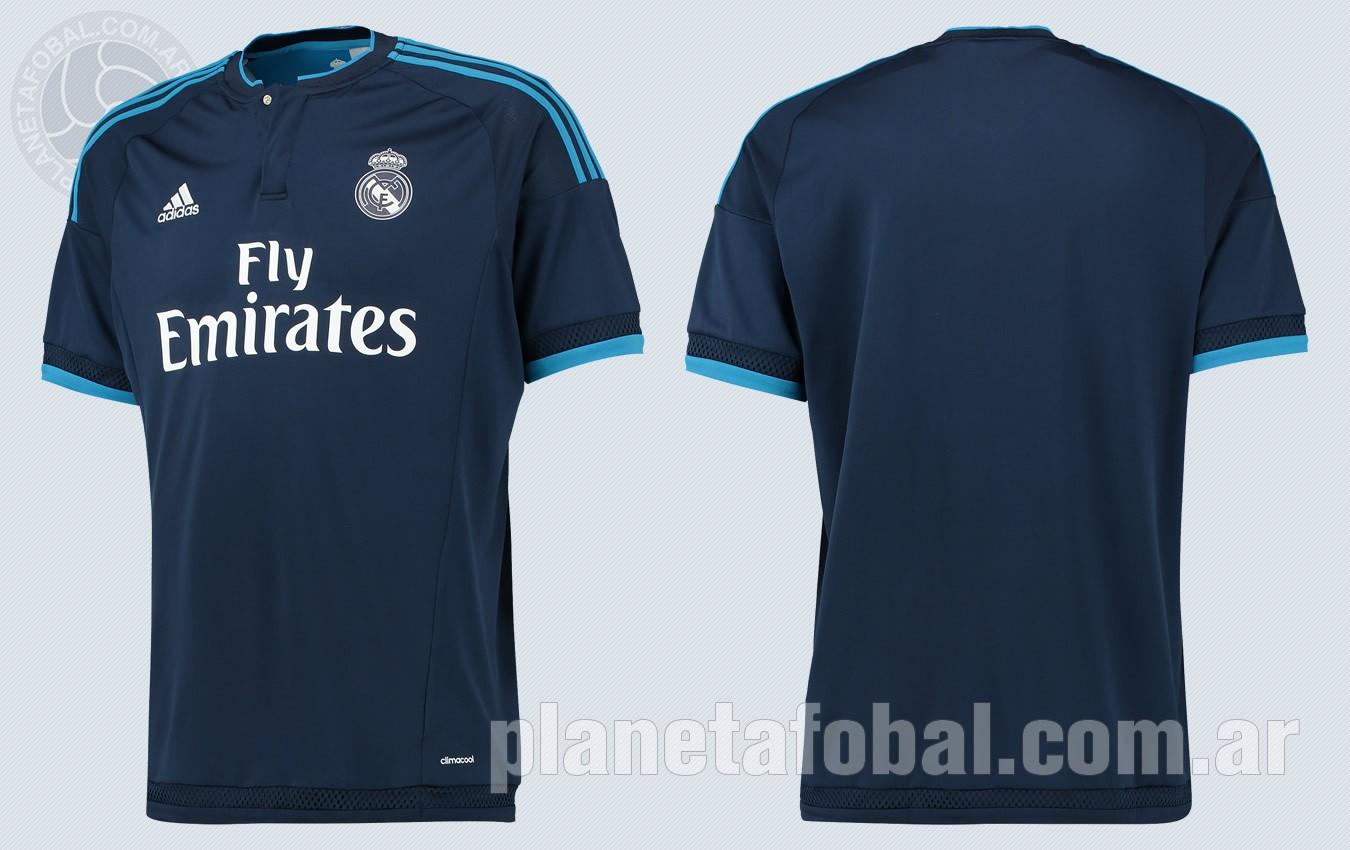 46a4229a879bd Tercera camiseta Adidas del Real Madrid 2015 16