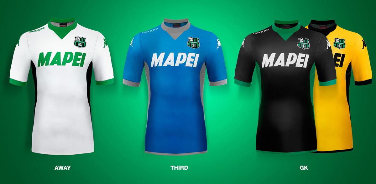 Camisetas alternativas del Sassuolo | Foto Kappa