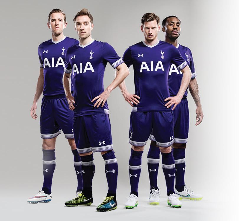 Tercera casaca del Tottenham | Foto Web Oficial