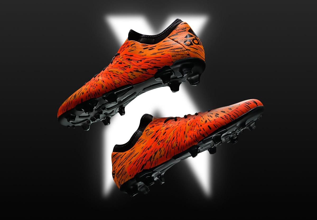 Menace Pack de los botinex X15 | Foto Adidas
