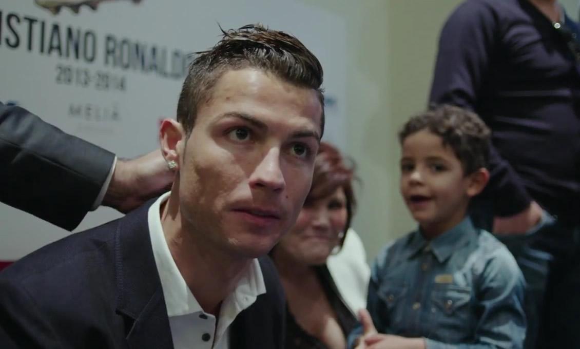Trailer de la película de Cristiano Ronaldo