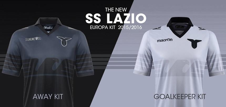 Nueva camiseta de la Lazio   Foto Macron