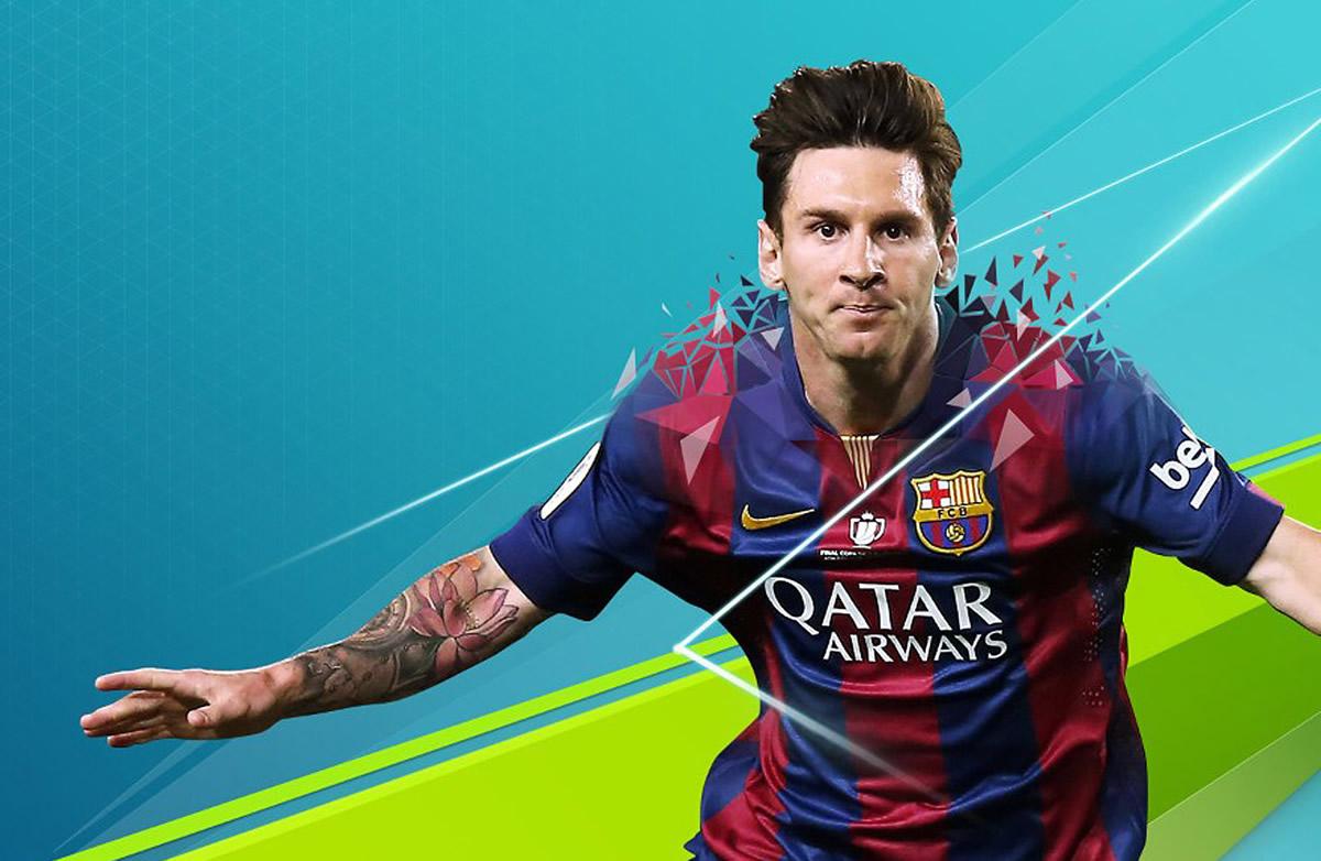 Messi el mejor del juego con 94 de media | Imagen EA Sports
