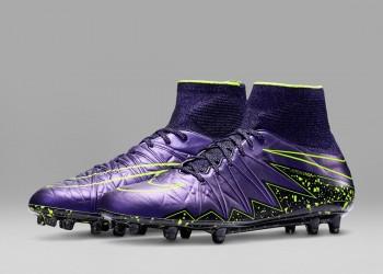 Botines HYpervenom Phantom del Electro Flare Pack | Foto Nike