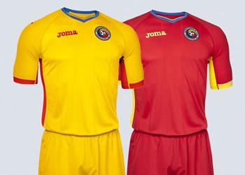 Las casacas de Rumania para la Euro 2016 | Imágenes Joma