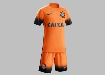 Tercera camiseta del Corinthians para 2015/2016 | Foto Nike