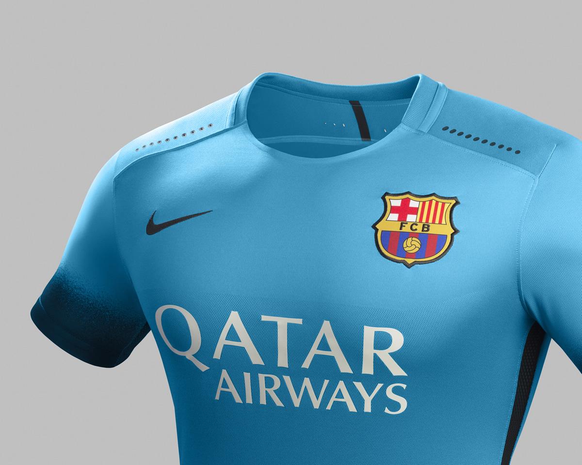 Tercera camiseta del FC Barcelona para 2015/2016 | Foto Nike
