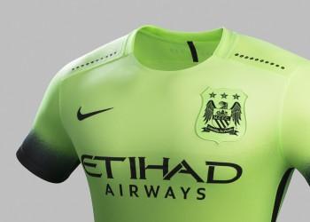 Tercera equipación del Manchester City para 2015/2016 | Foto Nike