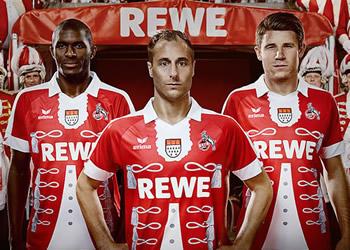 Nueva casaca del FC Köln | Foto Web Oficial