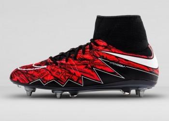 Botines Hypervenom II exclusivos de Lewandowski | Foto Nike