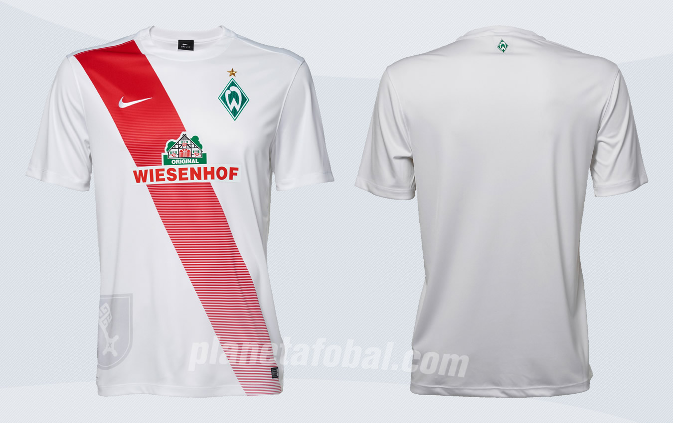 Nueva casaca del Werder Bremen | Foto Web Oficial