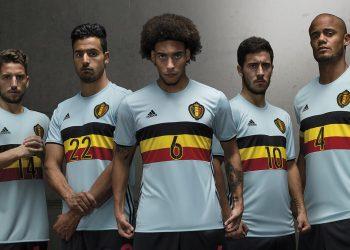 Casaca suplente de Bélgica | Foto Adidas