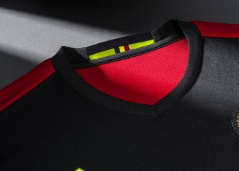 Nueva camiseta titular de Bélgica | Foto Facebook Oficial