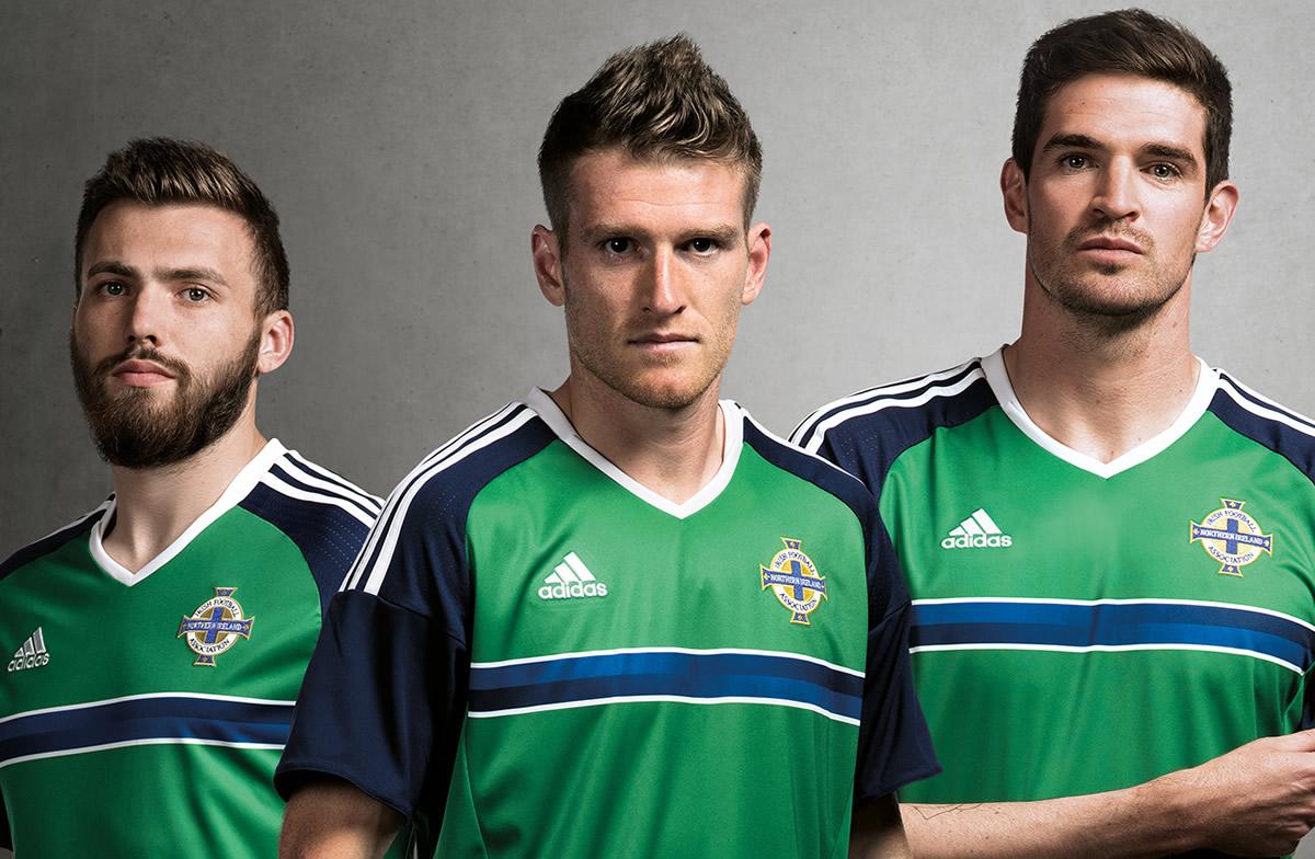 ebf7b45a9f8b3 Camiseta titular de Irlanda del Norte para la Euro 2016