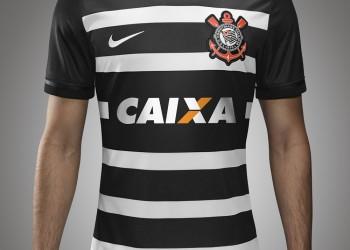 Camiseta alternativa de Corinthians para 2016 | Foto Nike