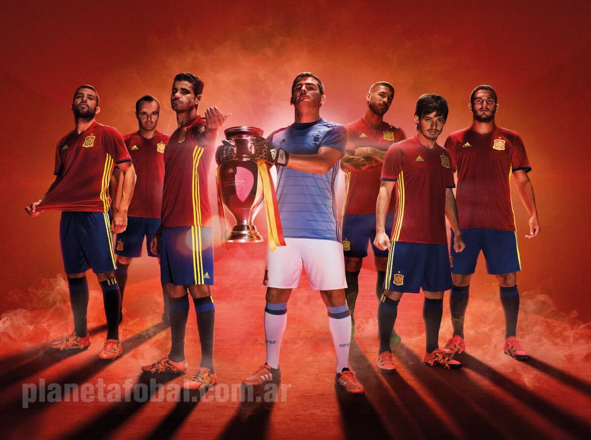 Nueva camiseta de España | Foto Adidas
