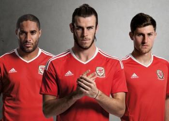 Nueva camiseta de Gales | Foto Adidas