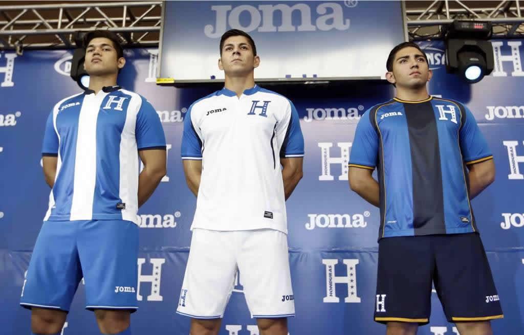 Nuevas casacas de Honduras   Foto La Prensa