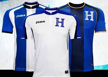 Nuevas casacas de Honduras | Foto La Prensa