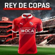 Nueva camiseta de Independiente   Foto Web Oficial