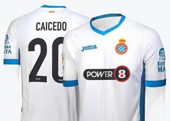Nueva camiseta del Espanyol | Foto Joma
