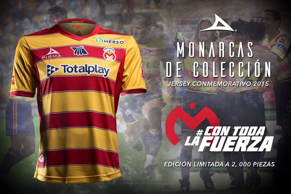 Camiseta especial del Morelia | Foto Web Oficial