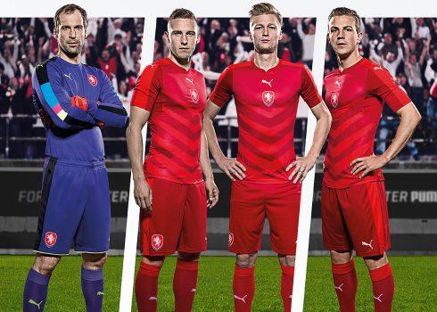 Nueva camiseta de la República Checa   Foto Puma