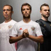 Camiseta suplente de Rusia | Foto Adidas