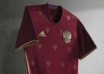 Camiseta titular de Rusia | Foto Adidas