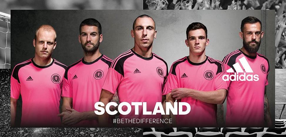 Casaca suplente de Escocia | Foto Adidas