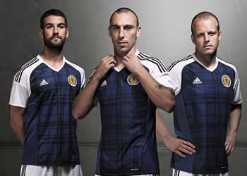 Casaca titular de Escocia | Foto Adidas