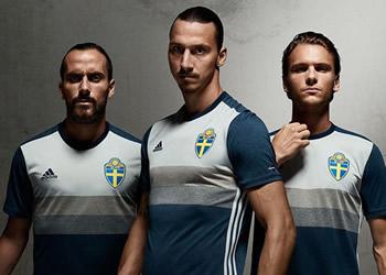 Casaca suplente de Suecia | Foto Adidas
