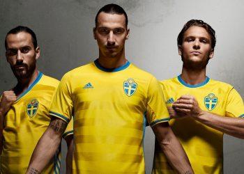 Nueva camiseta de Suecia | Foto Web Oficial